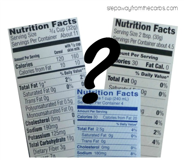 What Does Net Carbohydrates Mean? - an explanation that every low-carber needs to know