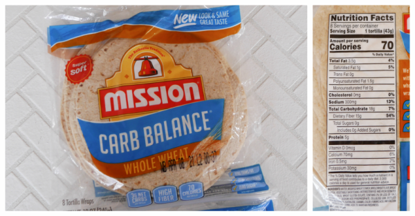 Mission Carb Balance Whole Wheat