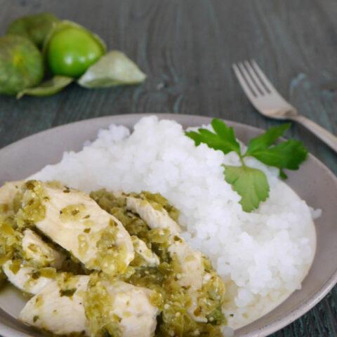 Low Carb Chicken Salsa Verde