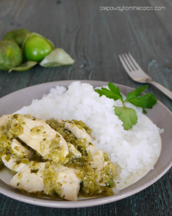 Low Carb Chicken Salsa Verde - a Mexican inspired keto recipe