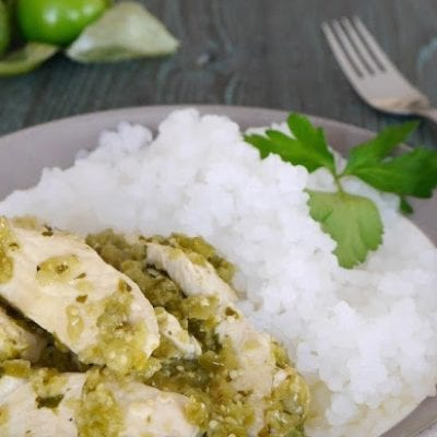 Low Carb Chicken Salsa Verde