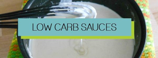 Low Carb Sauce Recipes
