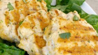 Low Carb Thai Salmon Fishcakes