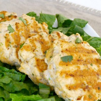 Low Carb Thai Salmon Fishcakes
