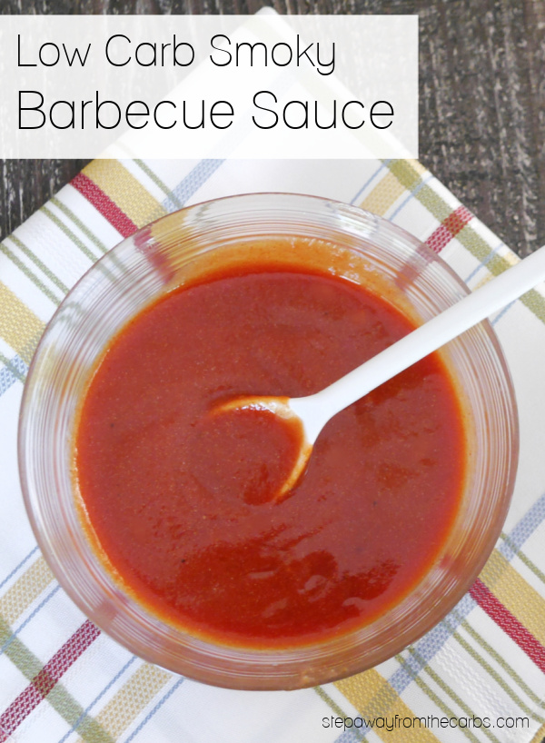 Low Carb Smoky Barbecue Sauce - an easy sugar free and keto recipe