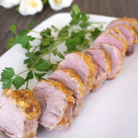Pork Rind Crusted Pork Tenderloin