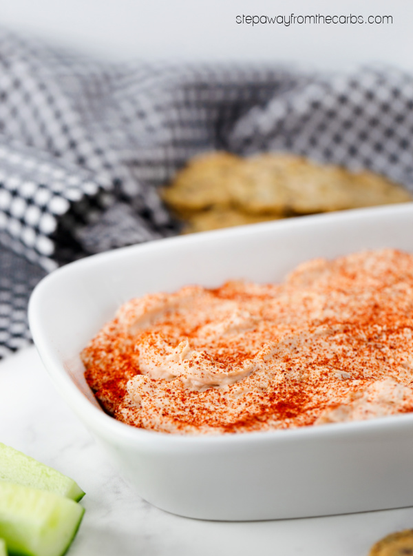 Smoked Salmon Mousse - a low carb and keto friendly appetizer or snack recipe