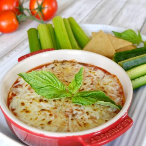 Low Carb Pizza Dip