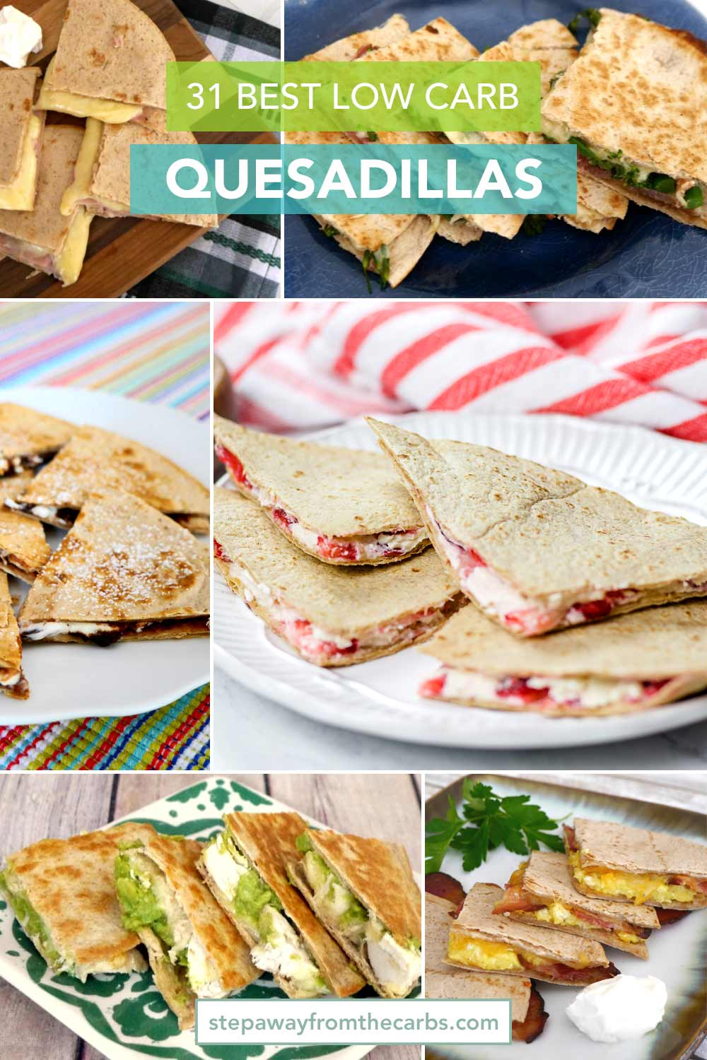 The Best Low Carb Quesadillas