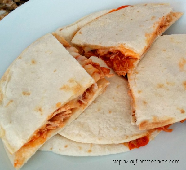 31 Best Low Carb Quesadillas - sweet and savory recipes!