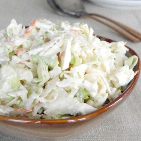 Horseradish Coleslaw
