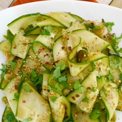 Asian Marinated Cucumber Salad
