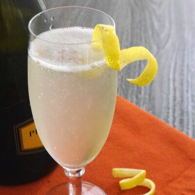 Low Carb French 75 Cocktail