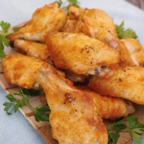 Red Thai Curry Chicken Wings