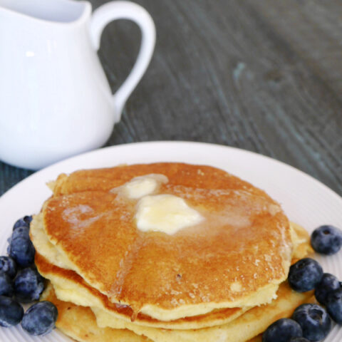 Low Carb Almond Pancakes