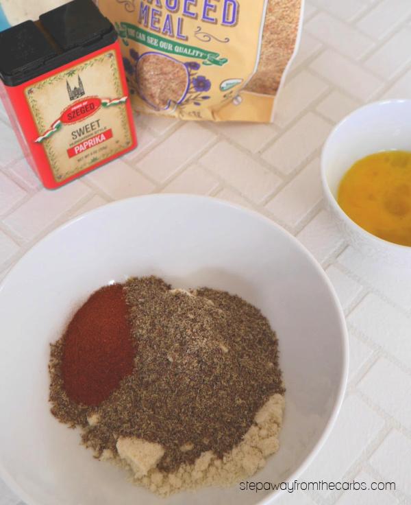 Low Carb Paprika Chicken Bites - keto and gluten-free recipe