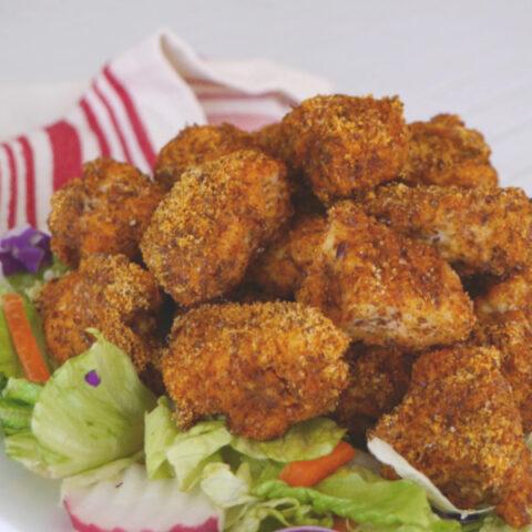 Low Carb Paprika Chicken Bites