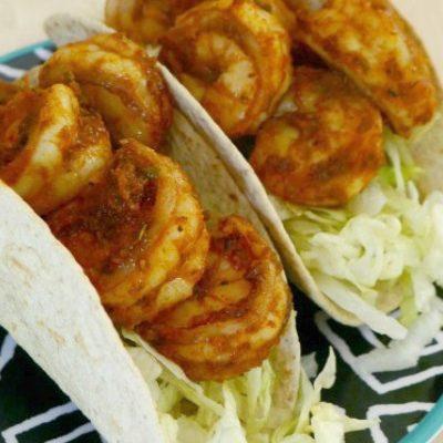 Low Carb Shrimp Tacos