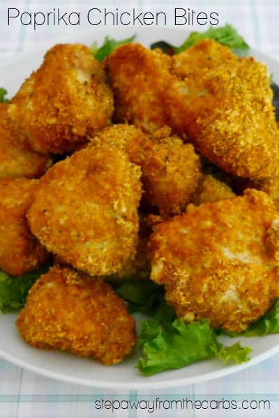 Low Carb Paprika Chicken Bites - Step Away From The Carbs