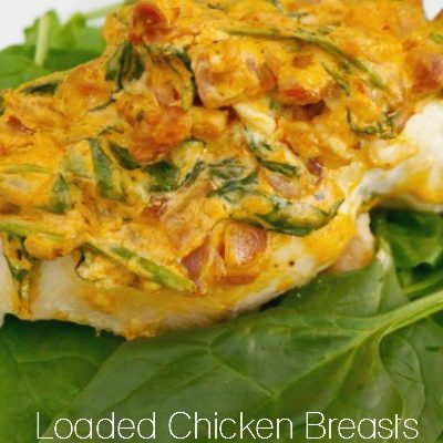 Loaded Chicken Breasts with Spinach and Prosciutto