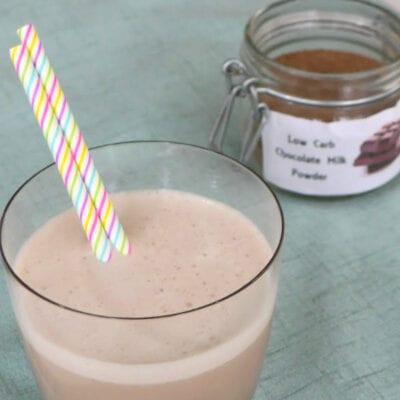 Homemade Low Carb Chocolate Milk Mix