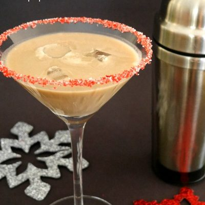 Low Carb Chocolate Peppermint Cocktail