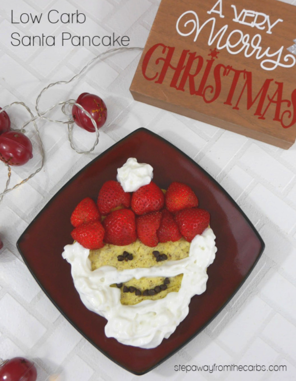 Low Carb Santa Pancake