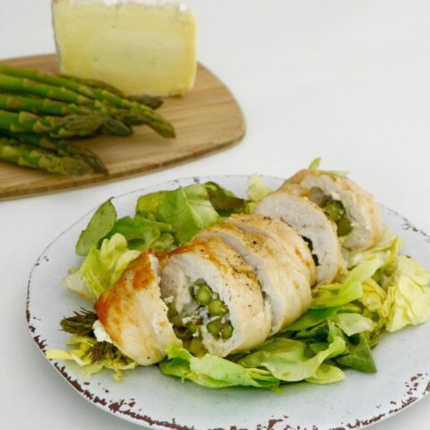 Brie and Asparagus Stuffed Chicken