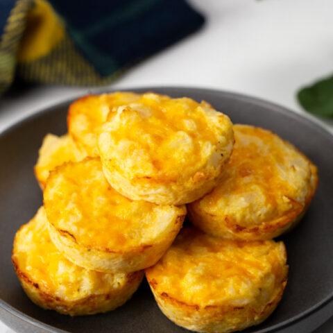 Cauliflower and Cheese Muffins