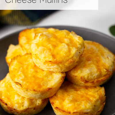 Low Carb Cauliflower Cheese Muffins