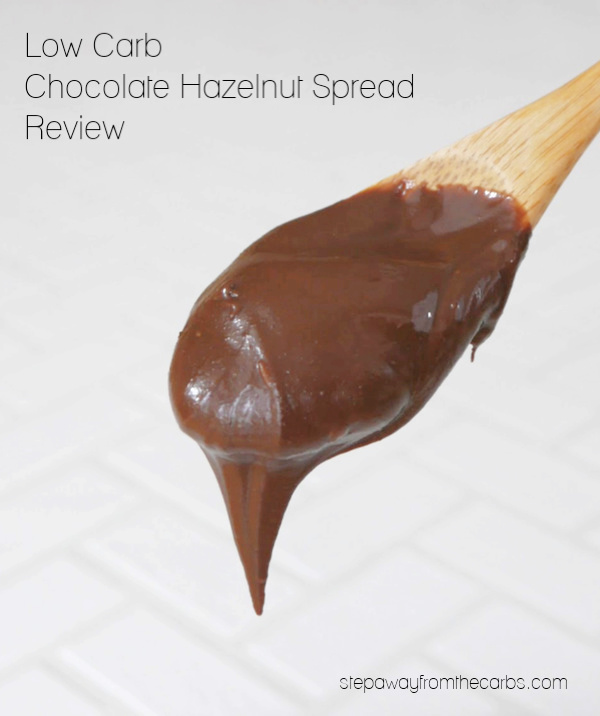 Low Carb Chocolate Hazelnut Spread Review - SIX different products, all sugar free and keto