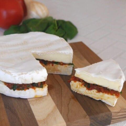 Italian Stuffed Brie
