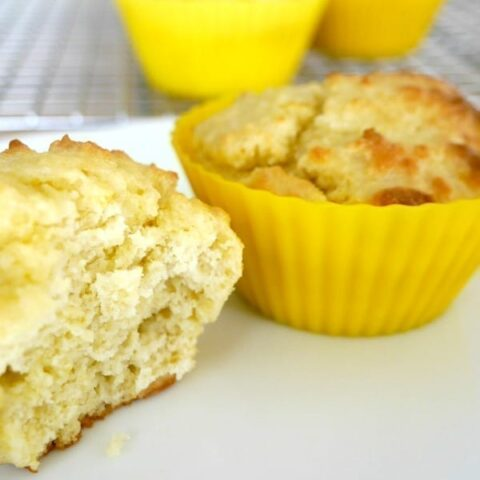 Low Carb Lemon Muffins