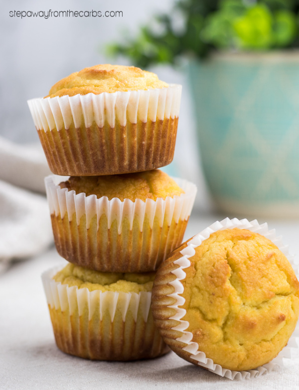 Low Carb Lemon Muffins - a healthy zesty treat! Watch the video tutorial!