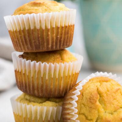 Low Carb Lemon Muffins