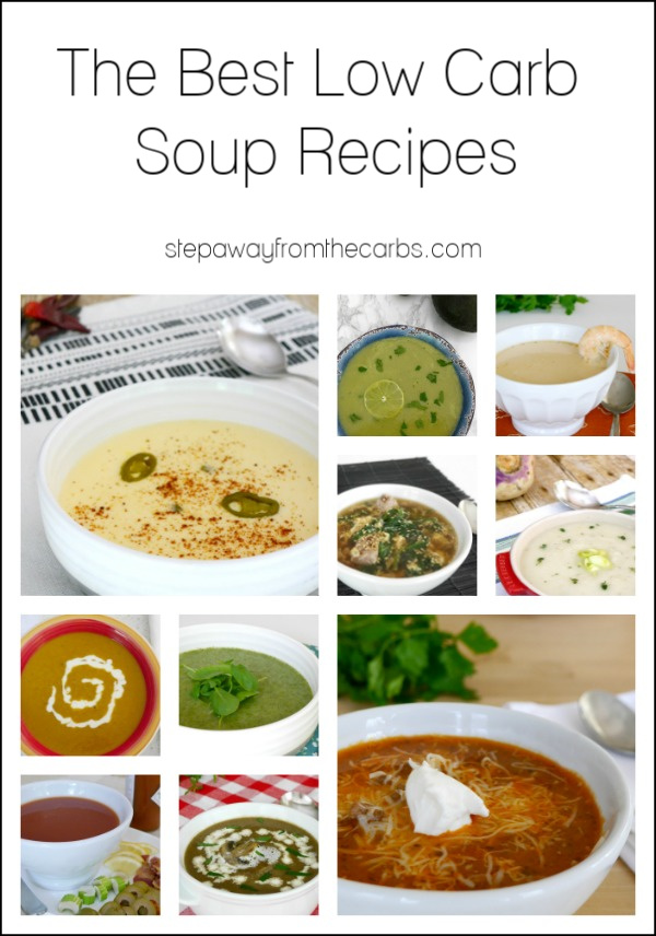 The Best Low Carb Soup Recipes - perfect for a cold day!