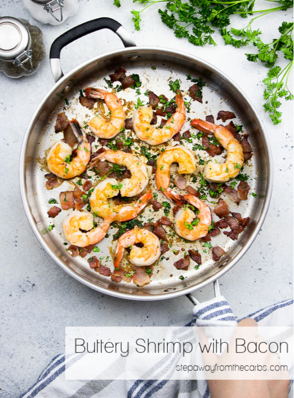 Buttery Shrimp With Bacon Step Away From The Carbs