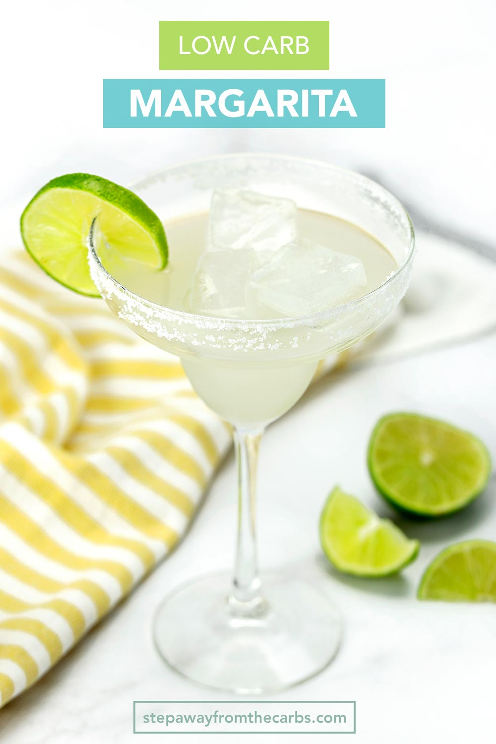 Low Carb Margarita with video tutorial