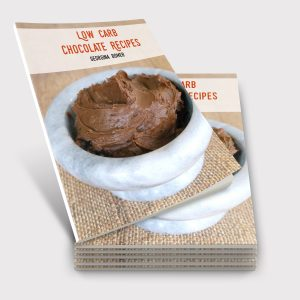 Low Carb Chocolate Recipes - the book