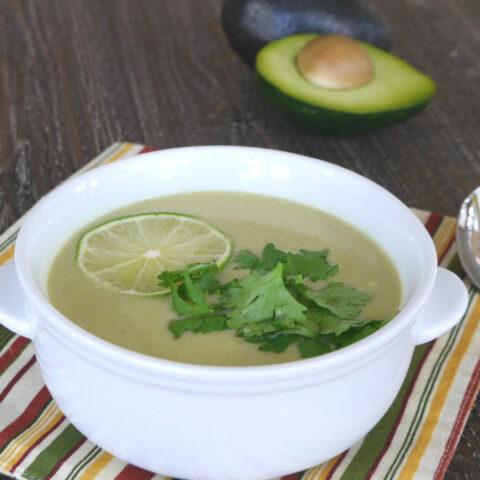 Low Carb Thai Avocado Soup