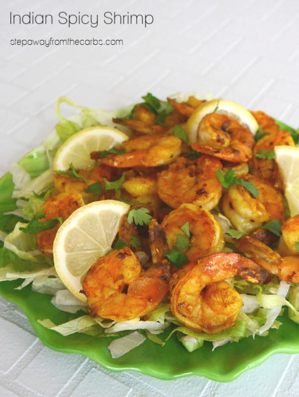 Indian Spicy Shrimp