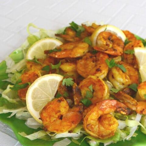 Indian Spicy Shrimp