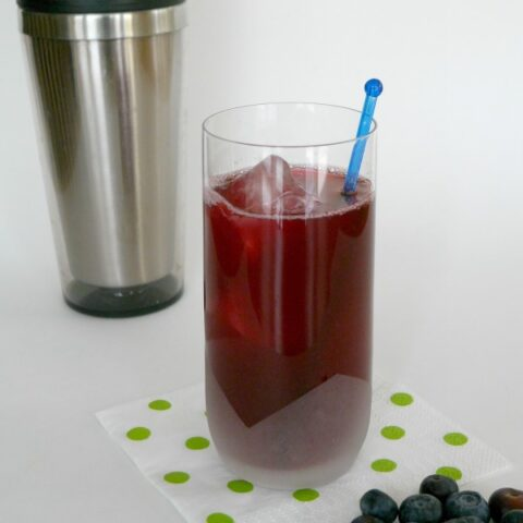 Low Carb Blueberry Cooler