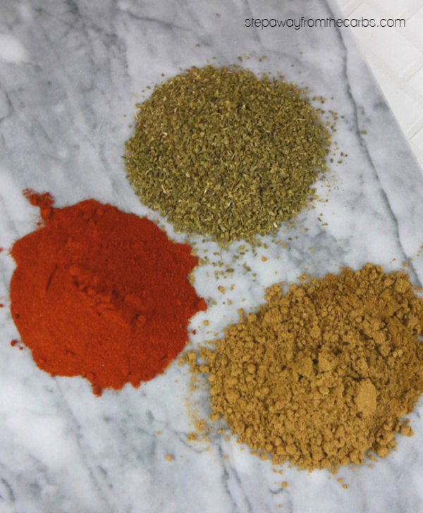 Mexican Dry Rub and Seasoning Blend - a super useful three-ingredient salt-free mix!
