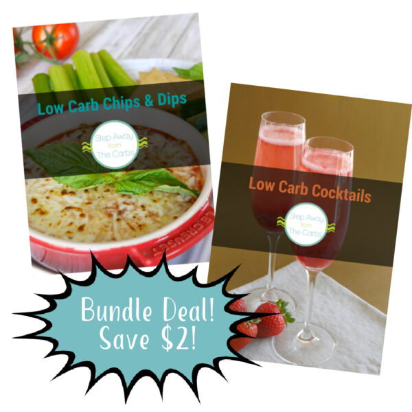 Low Carb Cocktails and Chips & Dips Ebooks