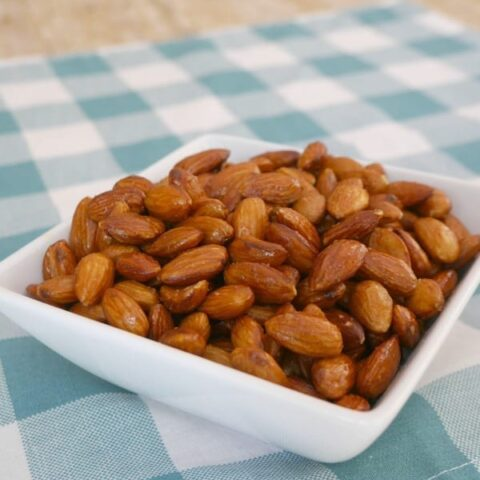 Low Carb Buffalo Almonds