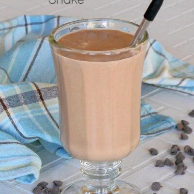 Low Carb Chocolate Hazelnut Shake