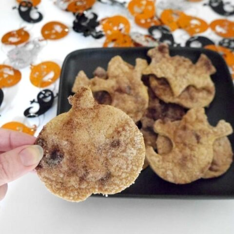 Low Carb Halloween Chips