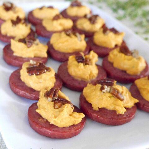 Baked Sausage and Pumpkin Bites