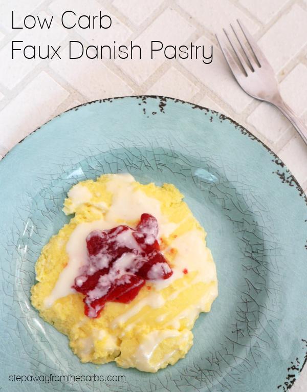 Low Carb Faux Danish Pastry